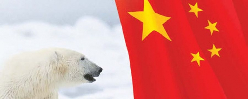 The globe contracts, the Arctic becomes closer to China